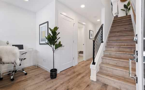 Entryway at 1105F 14th Ave, a Corazon Central Townhome