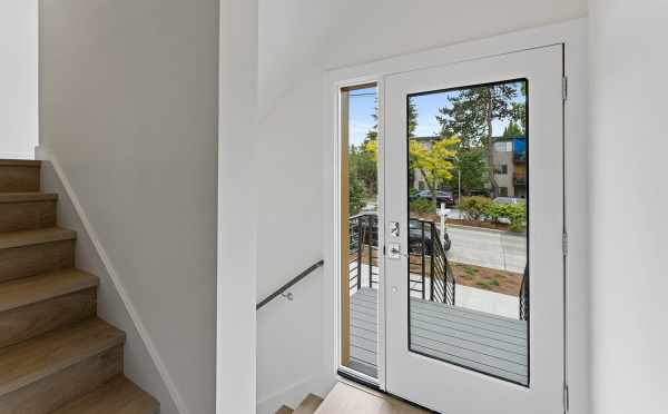 Entryway and Front Door of 6415 14th Ave NW