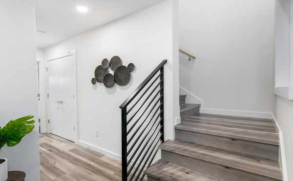 Entryway at 8509B 16th Ave NW, One of the Ryden Townhomes