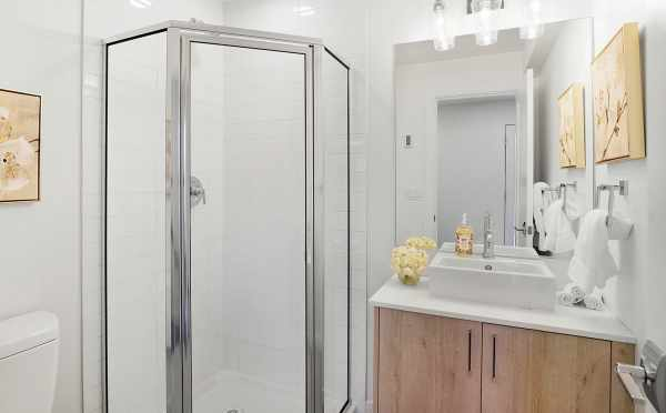 First Floor Bathroom at 1113 E Howell St