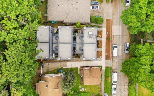 Overhead View of the Tremont Townhomes by Isola Homes
