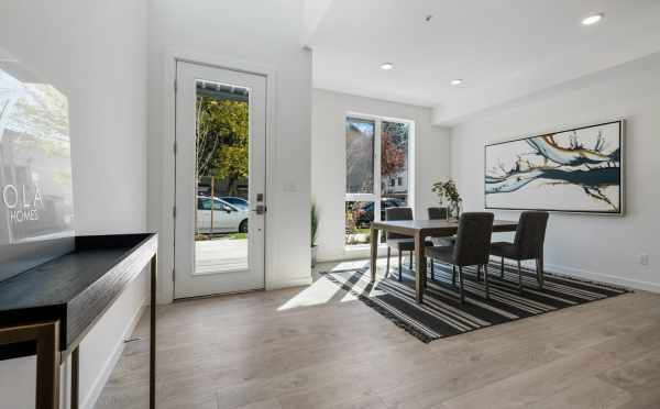 Front Door and Dining Area at 8569 Mary Ave NW
