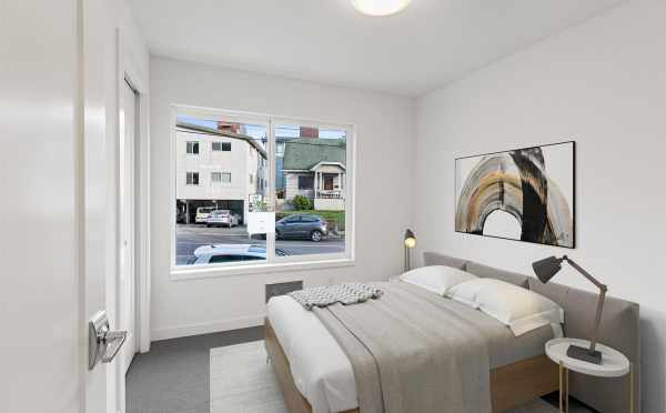 First Floor Bedroom at 7213 5th Ave NE