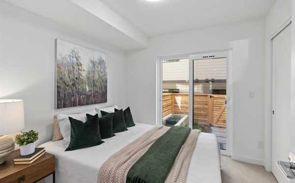 First-Floor Bedroom at 6309F 9th Ave NE in Zenith Towns East