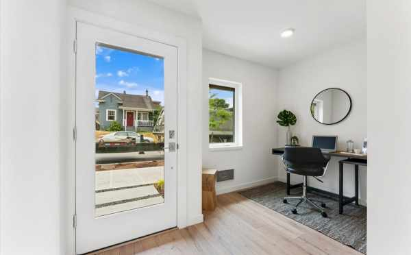 Entryway and Bonus Space at 820 NE 63rd St