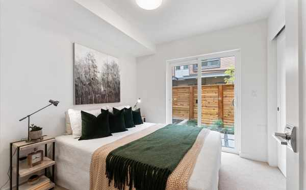 First-Floor Bedroom at 820 NE 63rd St, in Zenith Towns South