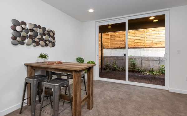 Bonus Room with Sliding Glass Door at 11514B NE 87th St