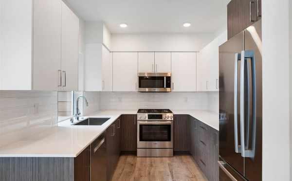 Kitchen at 5111B Ravenna Ave NE