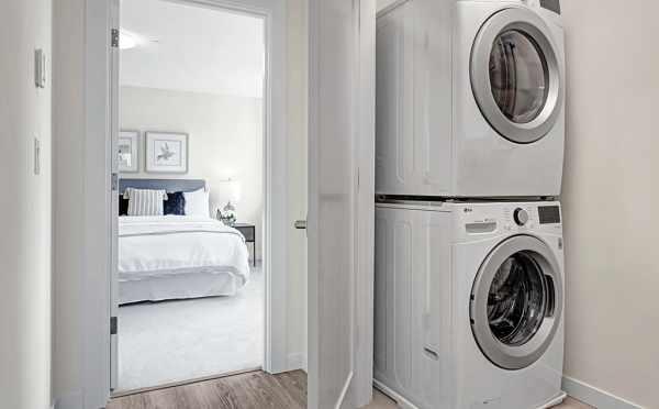 Laundry Area at 7219 5th Ave NE