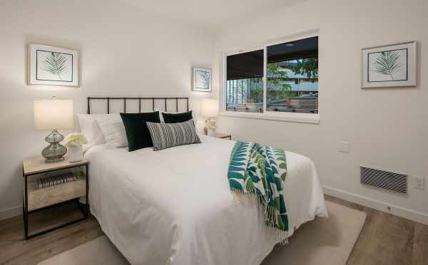 First Floor Bedroom in One of the Baymont Townhomes