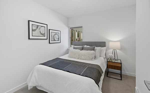 First-Floor Bedroom at 212B 18th Ave