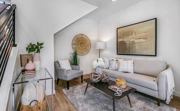 Living Area at 422F 10th Ave E