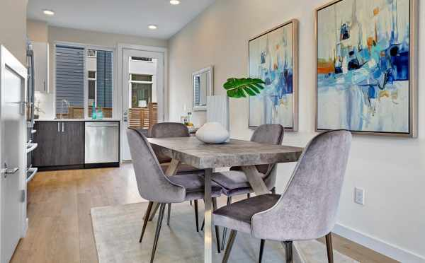 Dining Area at 2414B NW 64th St in Ballard