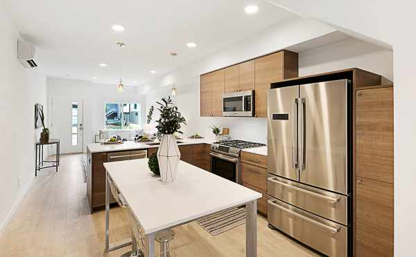 Stainless Steel Appliances in the Kitchen at 3537 Wallingford Avenue N