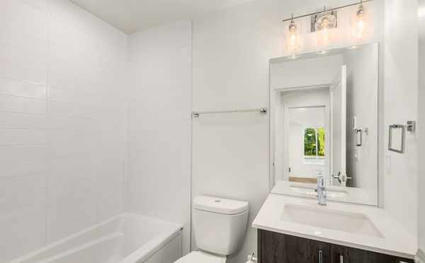 First-Floor Bathroom at 323 Malden Ave E
