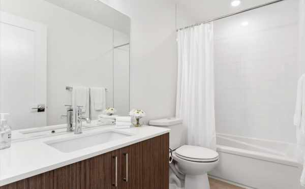 First-Floor Bathroom at 6421 14th Ave NW