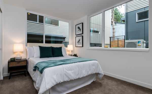 Bedroom on the First Floor of 11518A NE 87th St