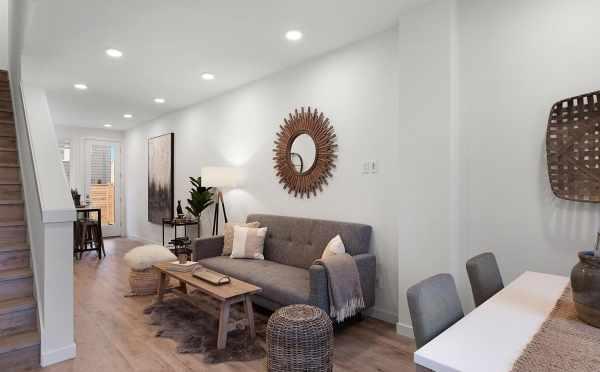 Living Room at 809B N 47th St