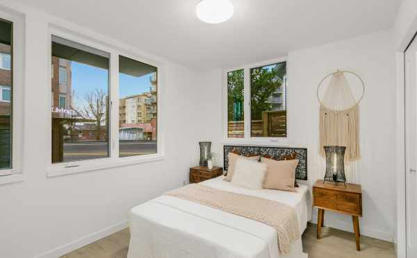 First-Floor Bedroom at 109A 22nd Ave E