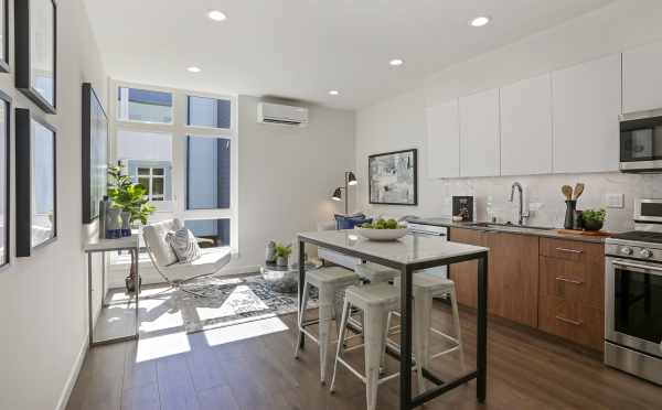View from the Living Room to the Kitchen at 1327 NW 85th St