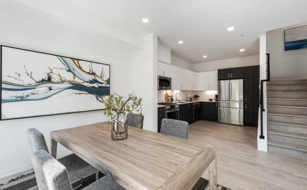 View from the Dining Area to the Kitchen at 8569 Mary Ave NW