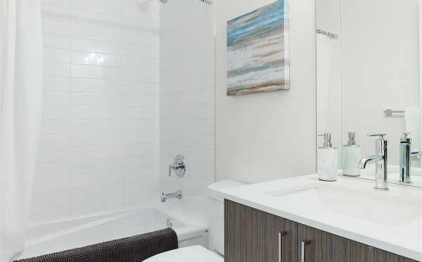 First Floor Bathroom at 445 NE 73rd St of the Verde Towns 2