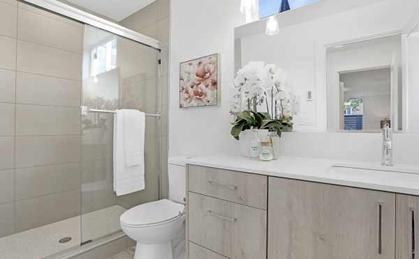Owner's Suite Bathroom at 1724B 11th Avwe