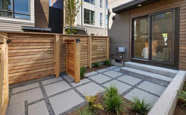 Patio of the First-Floor Bedroom at 6309F 9th Ave NE in Zenith Towns East