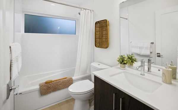 First-Floor Bathroom at 6317C 9th Ave NE