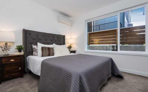 First Floor Bedroom at 11514B NE 87th St