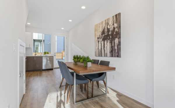 Dining Area at 2444C NW 64th St of the Lifa West Townhomes