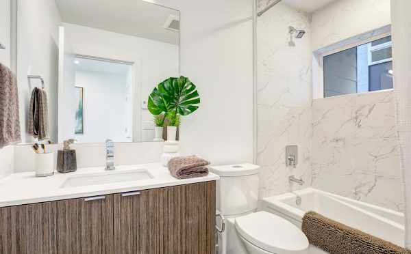 First-Floor Bathroom at 8505 16th Ave NW