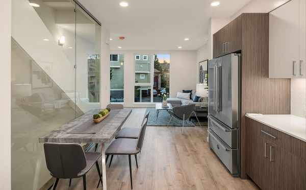 Kitchen and Dining Area at 2506 Everett Ave E, at the Baymont Townhomes