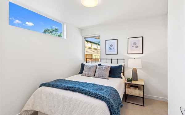First-Floor Bedroom at 224 18th Ave