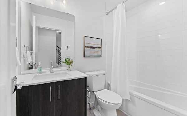 First Bathroom at 212E 18th Ave in Amber of the Cabochon Collection in the Central District