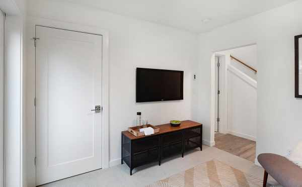 View of the Closet and Door of the Second Bedroom at 807 N 47th St