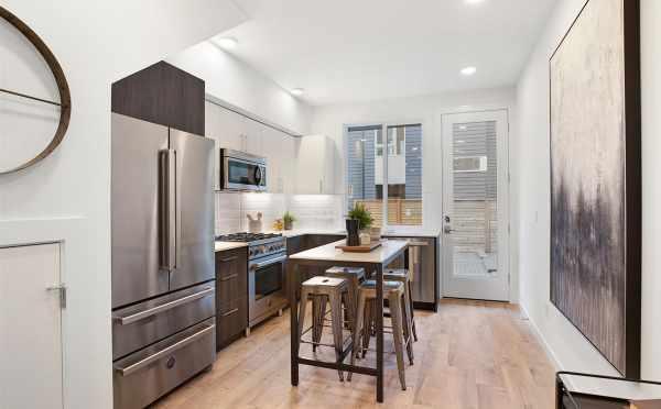 Kitchen at 809B N 47th St of Sunstone at Fremont