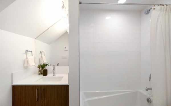 First Floor Bathroom at 5111F Ravenna Ave NE