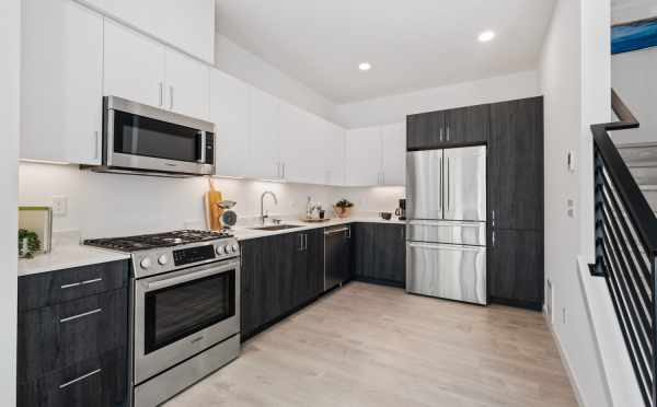 Kitchen at 8569 Mary Ave NW in The Trondheim