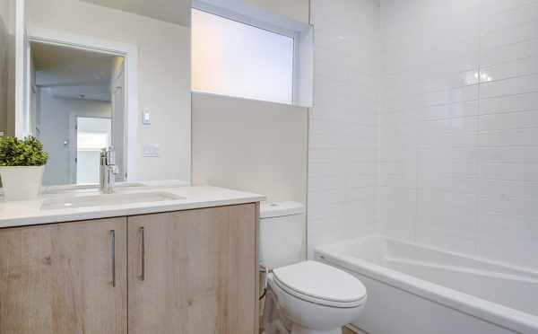 First Floor Bathroom at 437B NE 73rd St of Verde Towns 1