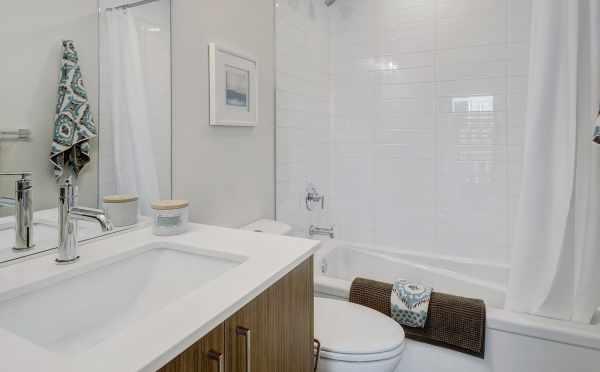 First Floor Bathroom at 437D NE 73rd Street