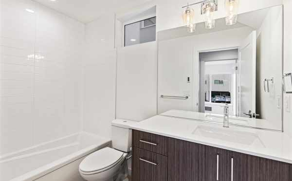 First Floor Bathroom at 7213 5th Ave NE in Verde Towns 3