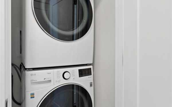 Laundry Area on the First Floor of 6309F 9th Ave NE in Zenith tow
