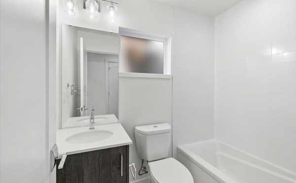 First-Floor Bathroom at 6313C 9th Ave NE in Zenith Towns West