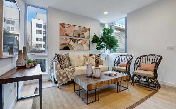Living Room at 3062F SW Avalon Way