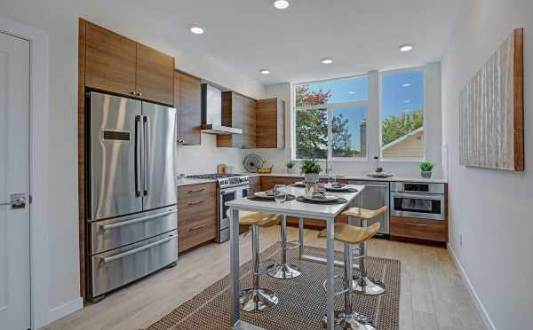 Stainless Steel Appliances in the Kitchen at 3549 Wallingford Ave N