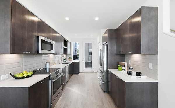 Kitchen in 7530B 15th Ave NW, Live-Work Unit in Talta Ballard