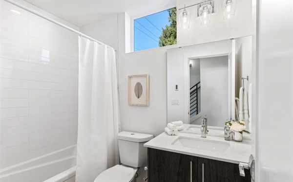 Bathroom on the First Floor of 224 18th Ave of the Cabochon Collection by Isola Homes