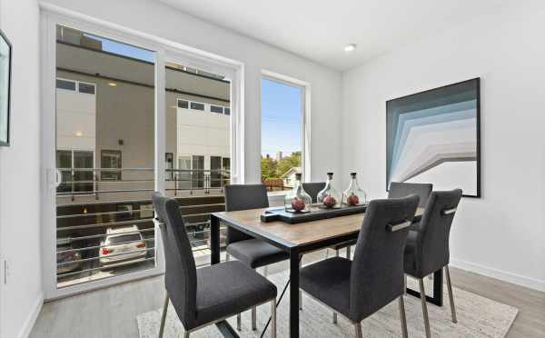 Dining Area at 212E 18th Ave