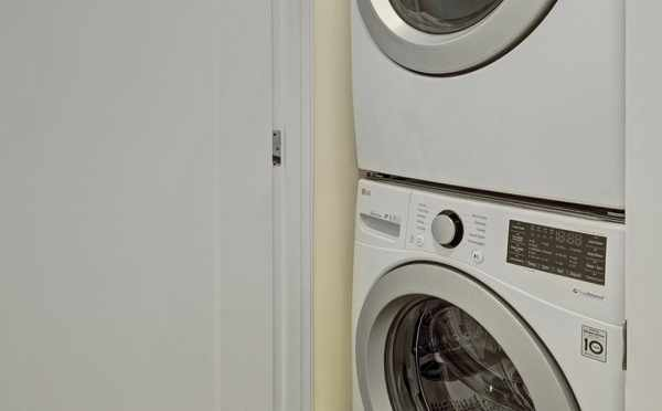 Stackable Washer and Dryer at 503B NE 72nd St